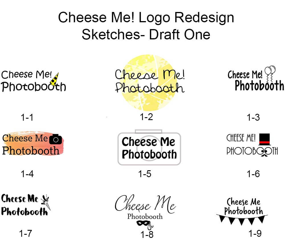 Cheese Me Logo Re-Designs