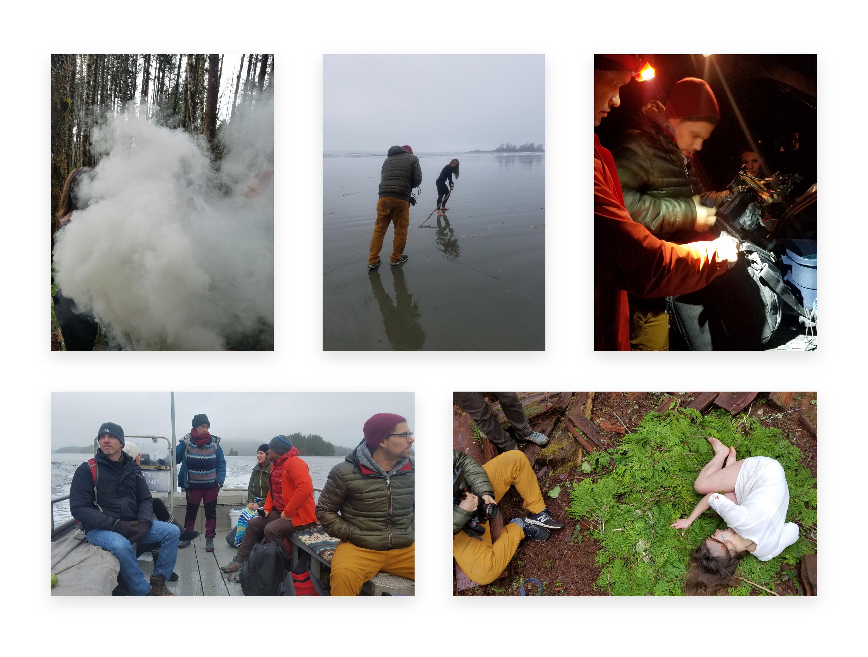 Behind the scenes of our film Solastalgia