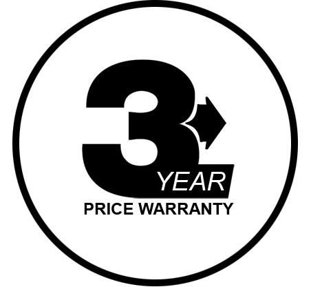 3 year price warranty on all kitchen exhaust equipment installations
