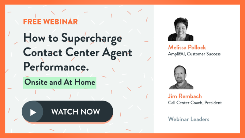 How to Supercharge Contact Center Agent Performance