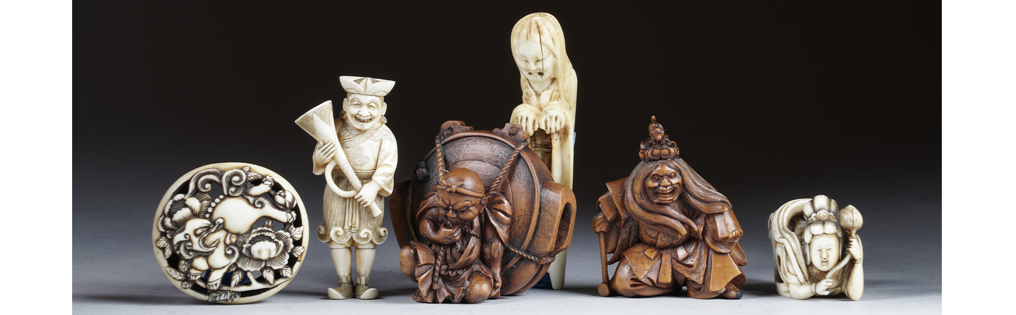 Netsuke, Inro, and Japanese Carvings Auction