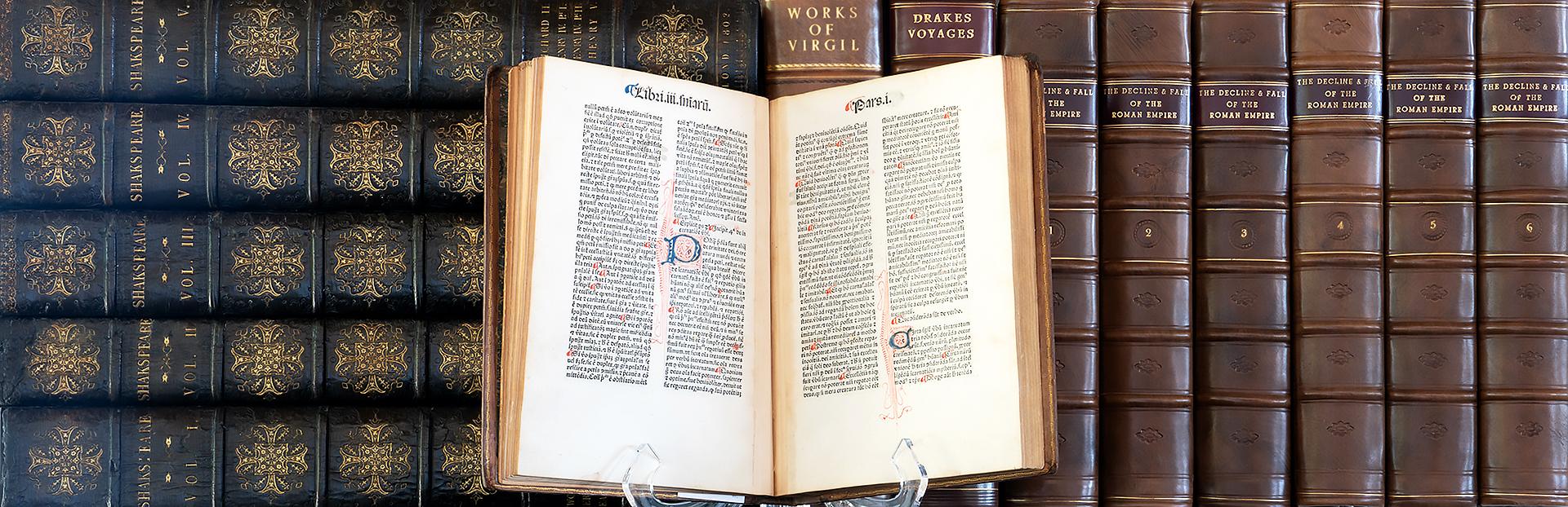 Rare Books and Incunabula