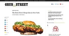 Grub Street - Cheap Eats