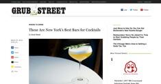 Grub Street - Best Cocktails