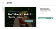 Travel + Leisure - Best Cocktails
