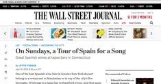 The Wall Street Journal - Barcelona