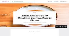 Sushi Amane's $250 Omakase Tasting Menu in Photos