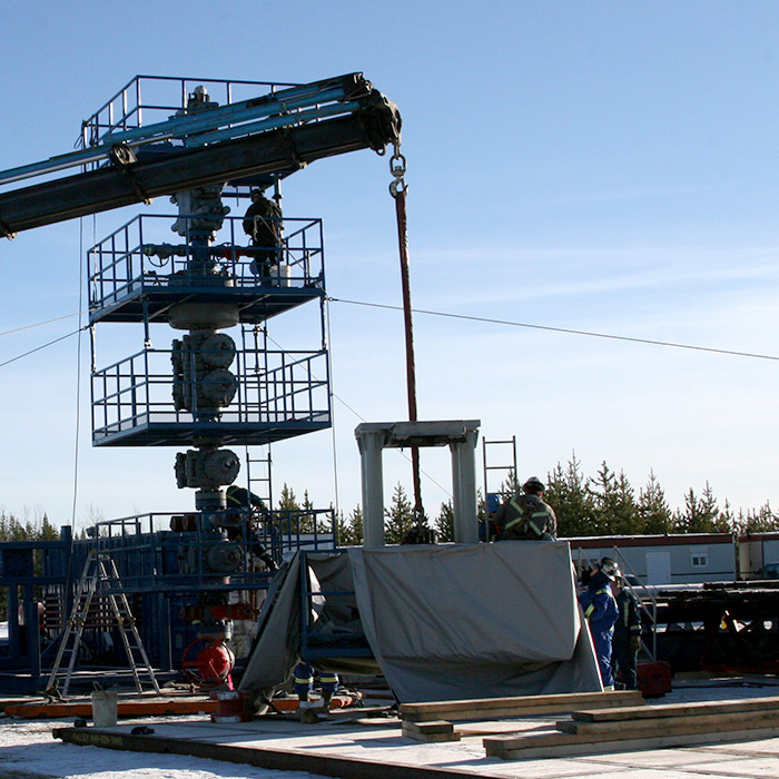 Frac Ball and Seat milling with 47mpa BHP, TVD of 3300m and MD of 4600-5000m.