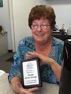 Kathy Rogers of Florida Secure Storage