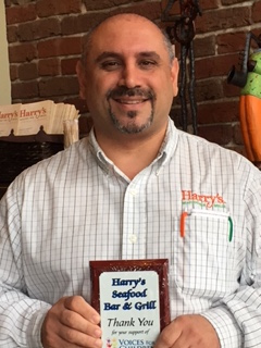 Chris Colletti, General Manager of Harry's Seafood Bar & Grille