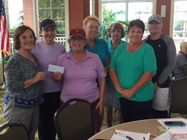 Members of the Candler Hills Ladies Golf Association