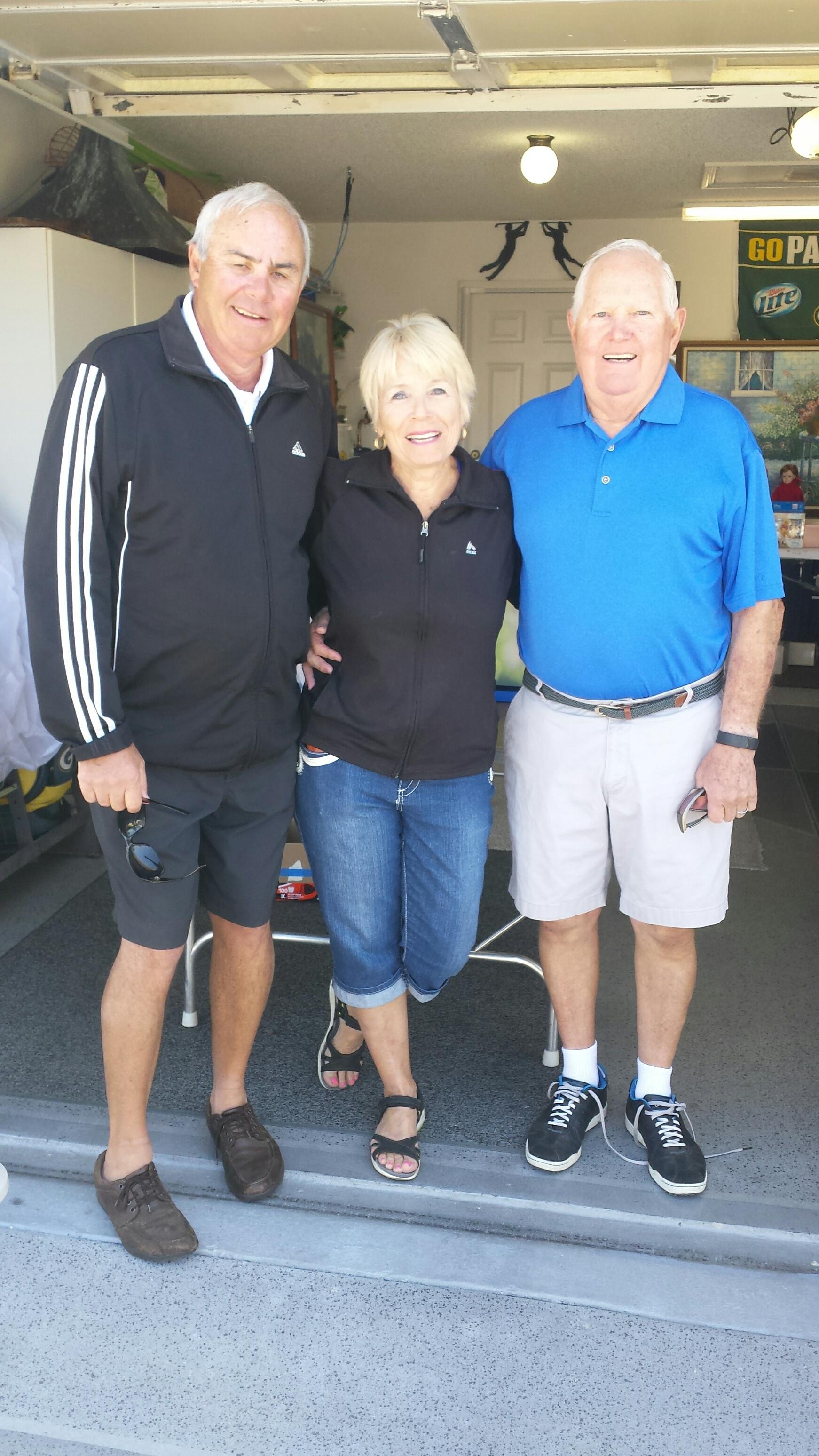 Dana Conley Linda Johnson and Jerry Johnson