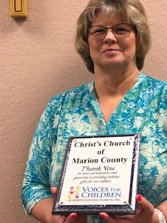 Melody Connell of Christ's Church of Marion in Ocala