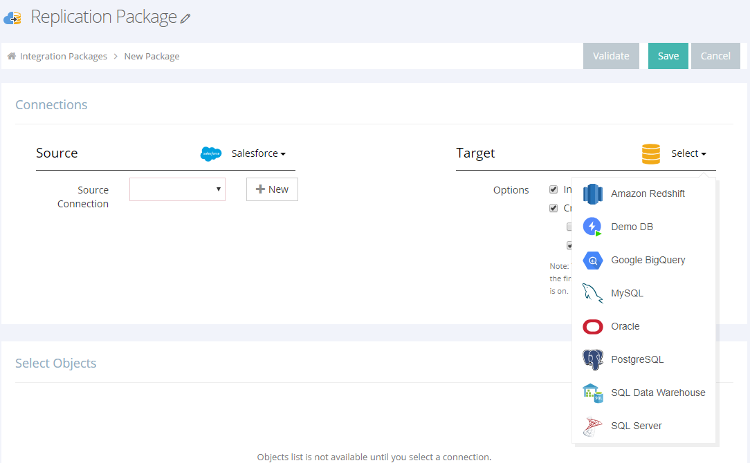 Moving Data to an On-Prem Database with Skyvia