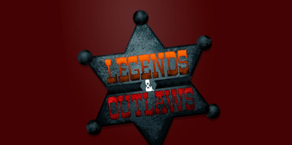 Legends and Outlaws logo design