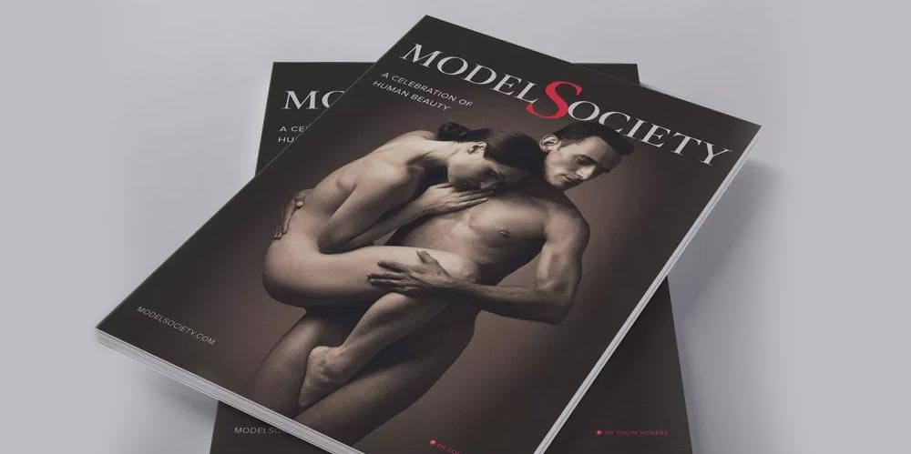 Model Society magazine design