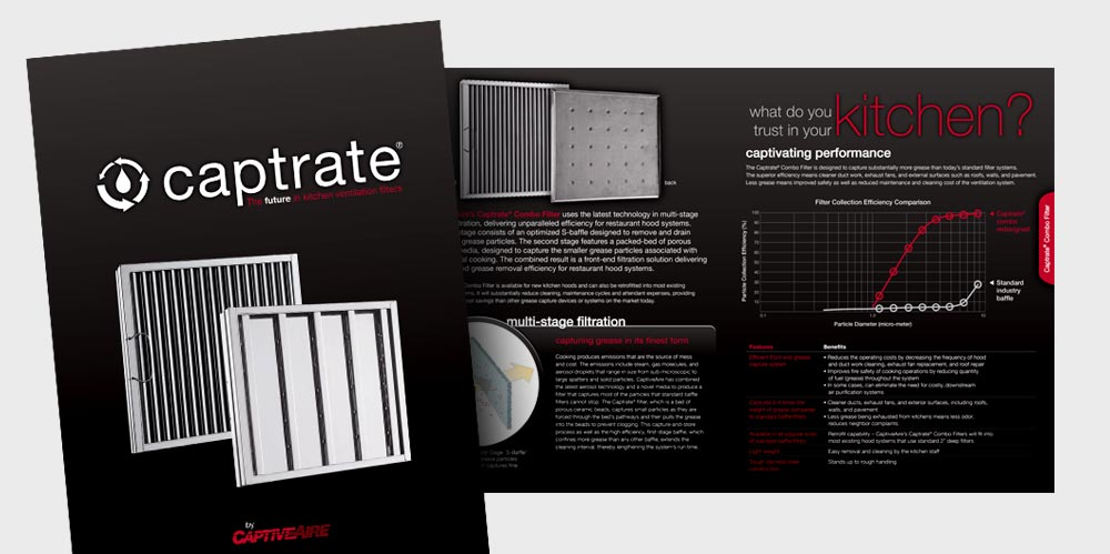 Captrate brochure design