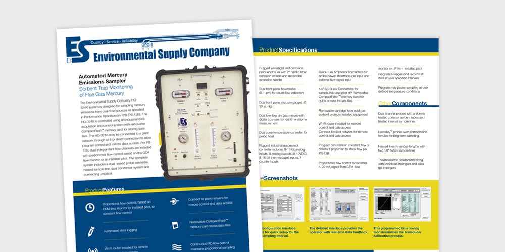 Environmental Supply product handout