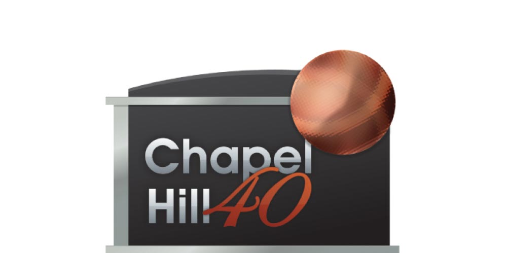 Chapel Hill 40 Logo Design