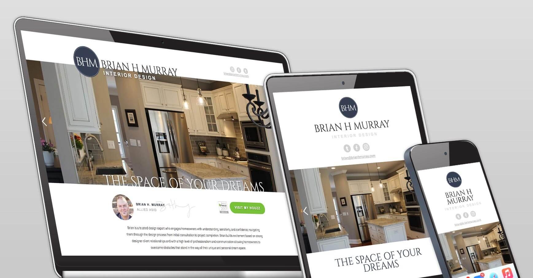 Brian H Murray Web Design Freelance Website Design Webflow Expert