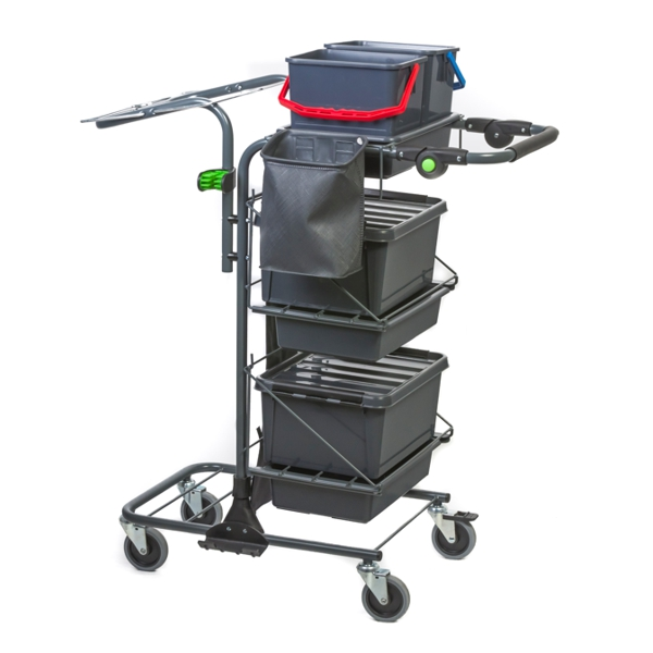 Reflex Motion P1 cleaning trolley