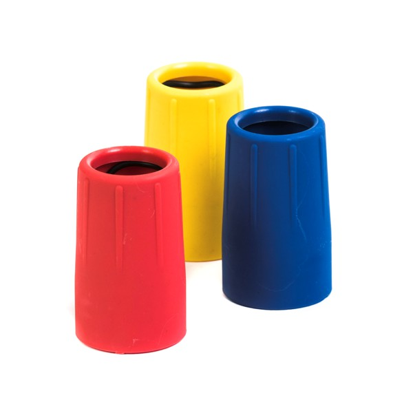 Reflex color coding collars for squeegee