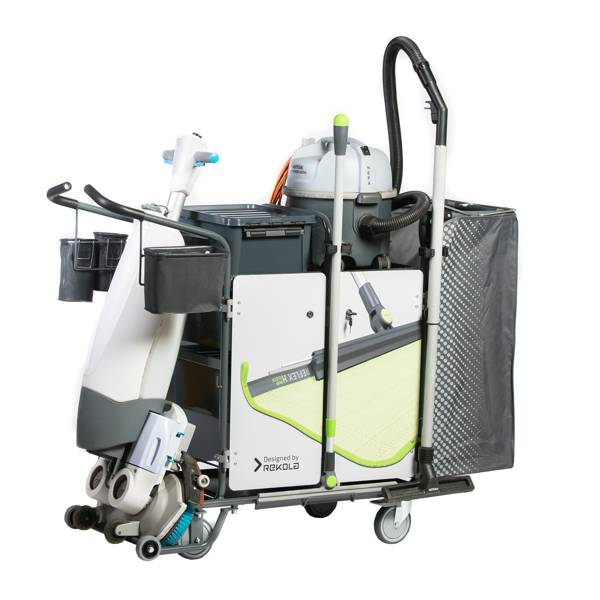 Rekola Motion M3 Machine cleaning trolley