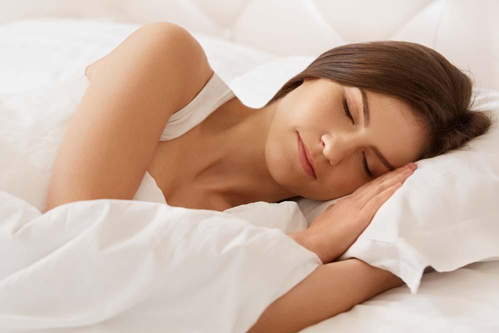 Nutrition Lifestyle - Sleeping Image