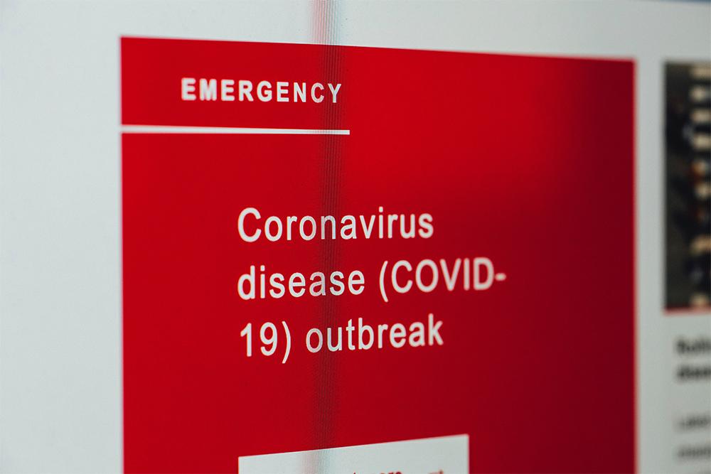 Coronavirus Emergency Warning