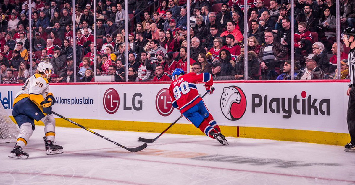 Playtika Corporate Sponsorship Montreal Canadiens