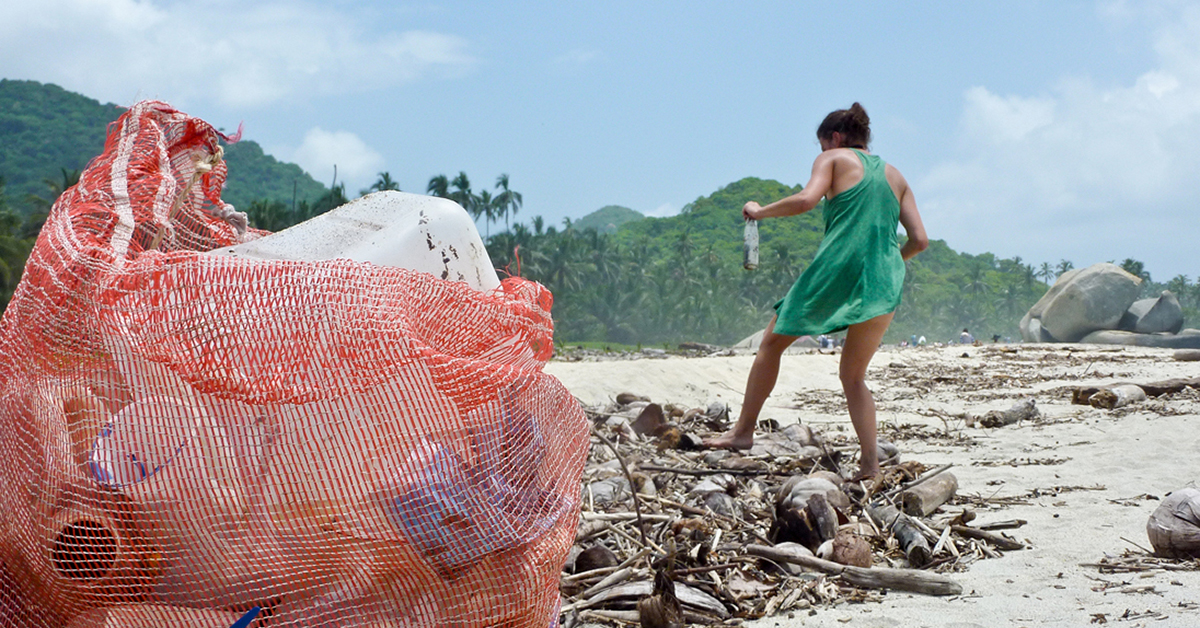 Oceanic Society Beach Clean-Up