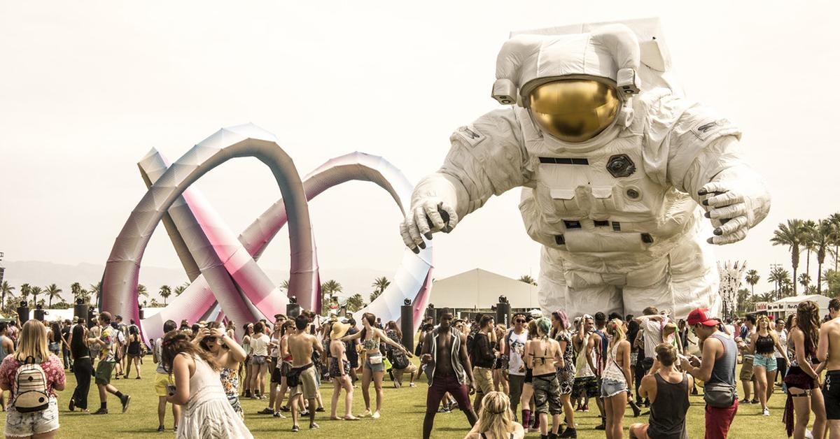 Coachella Scene Marketing Influencers Brands