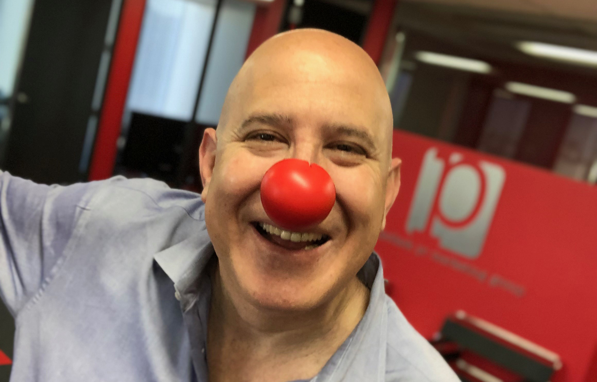 Red Nose Day Stefan Pollack