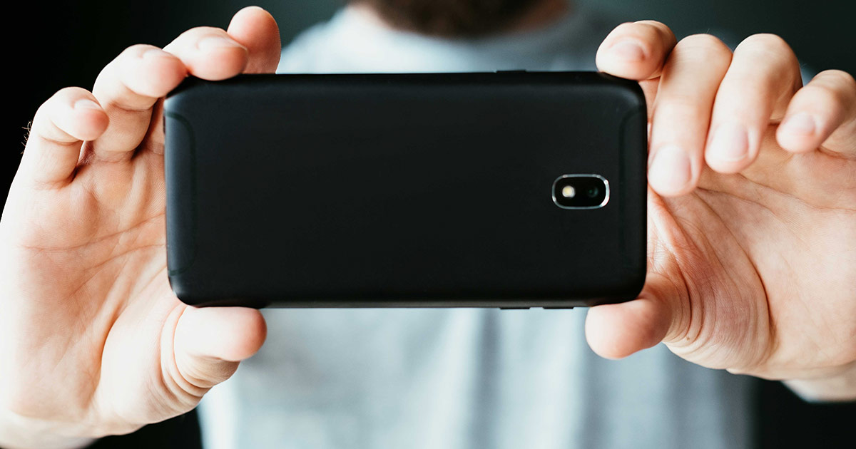 Smartphone video shoot