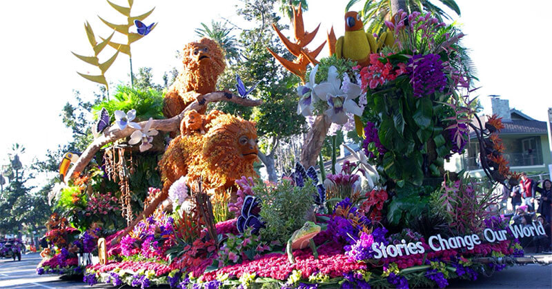 Fiesta Parade Floats Rose Parade