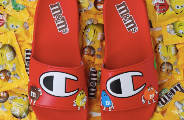 Champion Footwear Collaboration M&Ms