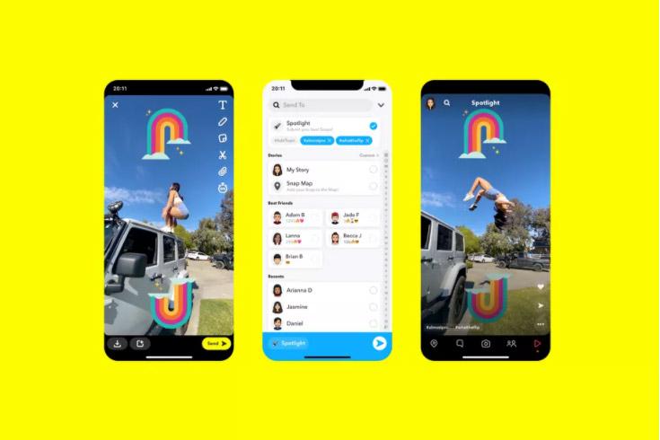 Snapchat Spotlight Tiktok Reels Competitor