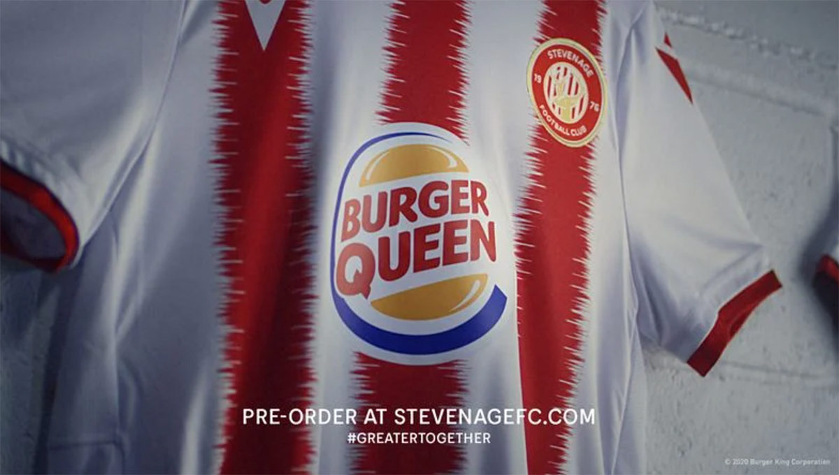 Burger King Queen Stevenage Soccer Promotion
