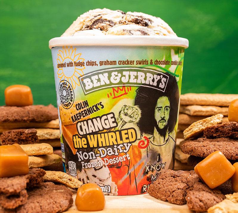 Ben & Jerry's Social Activism New Flavor Colin Kaepernick
