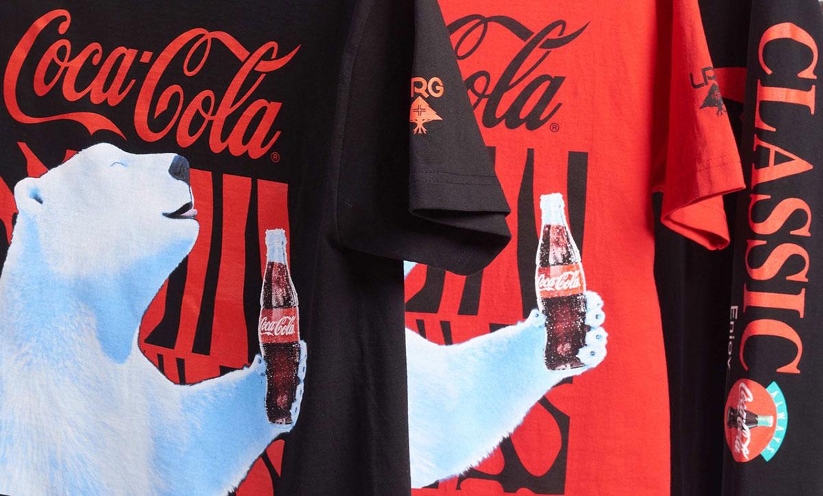 Coca Cola Streetwear Collaboration LRG