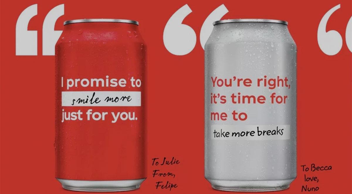 Coca-Cola messages