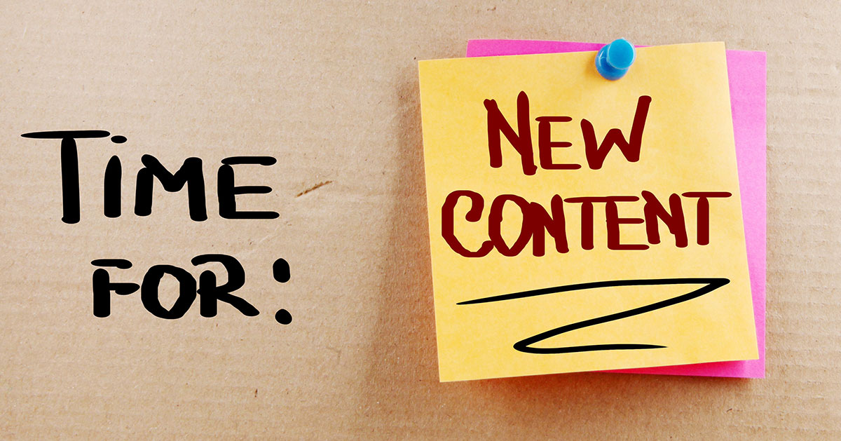 Spring Cleaning Content Marketing