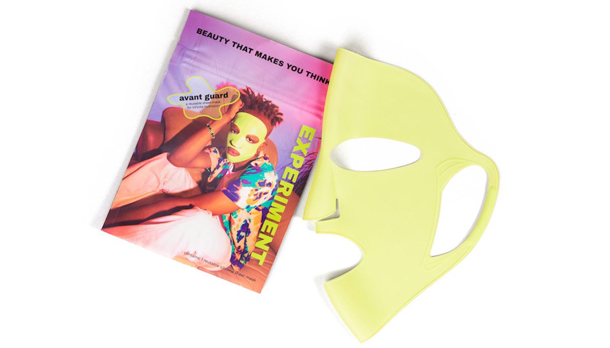 A beauty mask and written guide