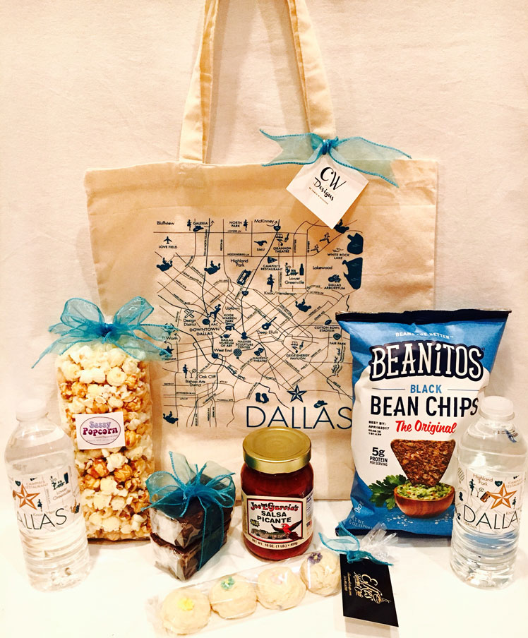 Hospitality Bags for Hotel Guests, Wedding Guest Bags, Hotel Wedding Welcome Bags, Conference Guest Bags, Conference Welcome Bags, Out of Town Guest Bag, Welcome Gifts for Conference Attendees, Destination Wedding Welcome Bags, Canvas Welcome Bags, Dallas texas welcome bag,