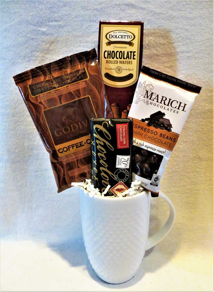 Coffee Gifts, Coffee Gift Basket, Gourmet Gift, Gourmet Gift Basket, Hostess Gift, Office Gift, Corporate Gift, Thank You Gift