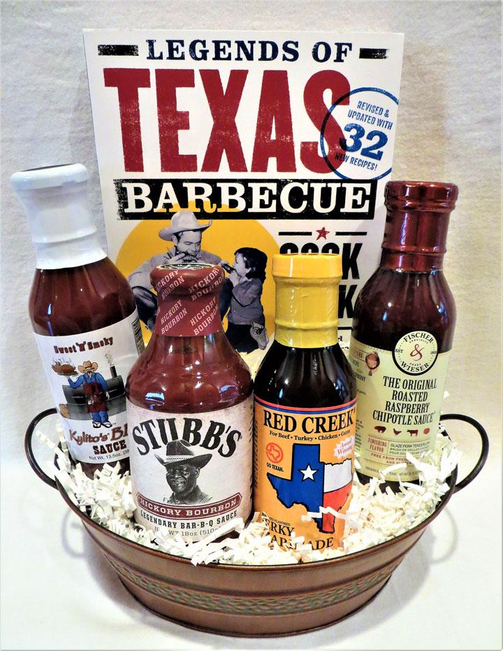 Texas Barbecue Gift Baskets, Texas Barbecue Gift, Texas Barbeque Gift Basket, Texas Barbeque Gifts