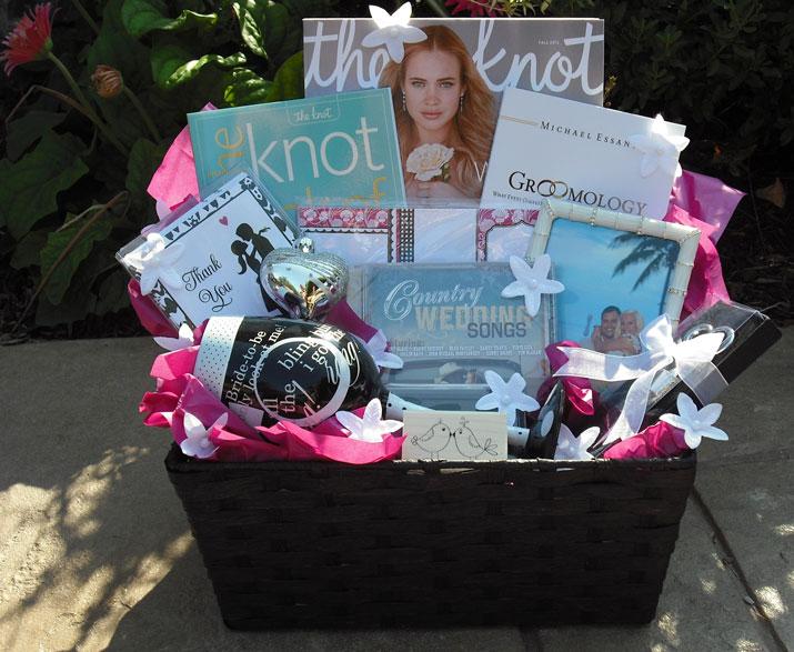 Engagement Gift Basket Customized, Engagement Gift Basket, Custom Engagement Basket, custom wedding baskets,