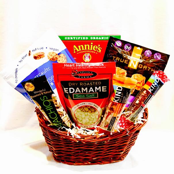 Healthy Snacks, Healthy Snacks Gift Basket, Healthy Snacks Gift Basket for Her, Healthy Snack Gift Basket for Him, Corporate Gift Basket, Corporate Gift