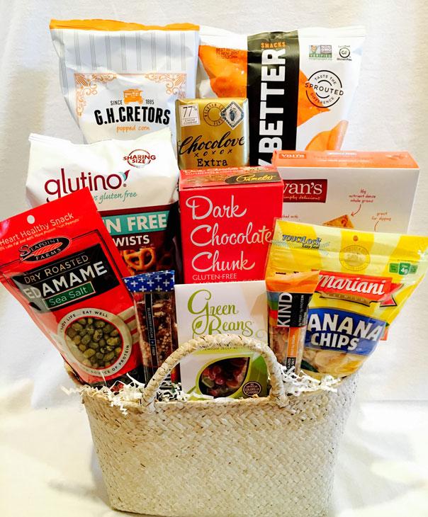 Gluten Free Gift Basket, Gluten Free Gift Idea, gluten free basket, gluten free gifts,