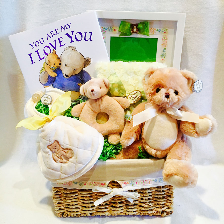 you are my i love you book, baby gift basket,